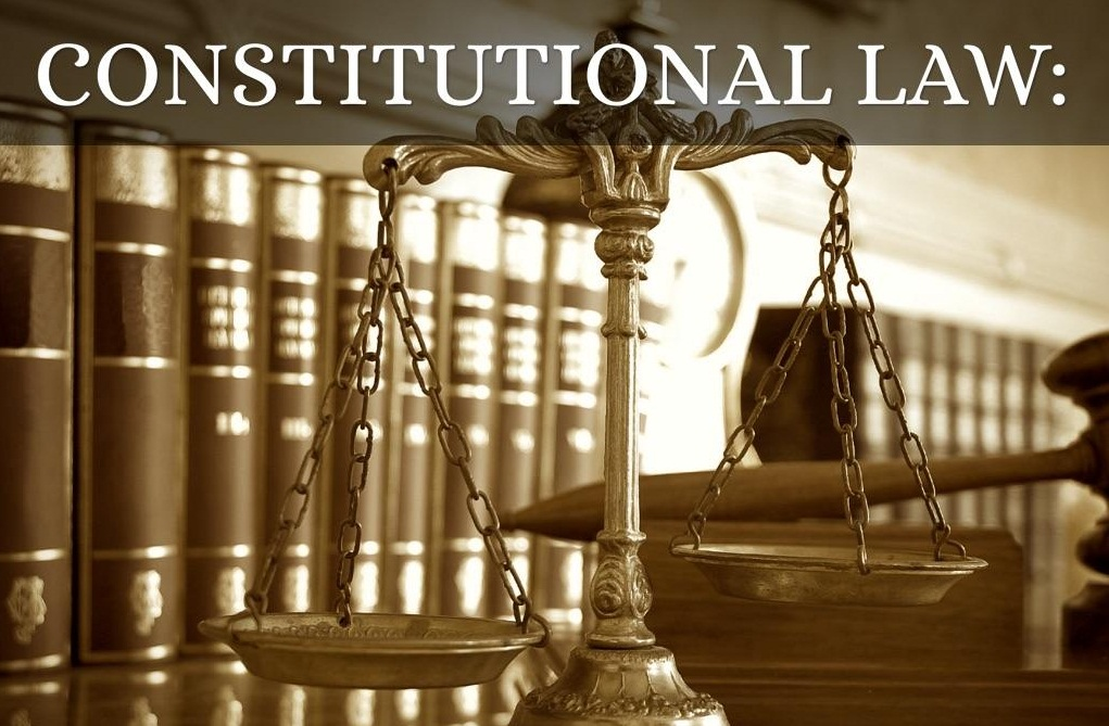 Constitutional law and administrative law (part 1)
