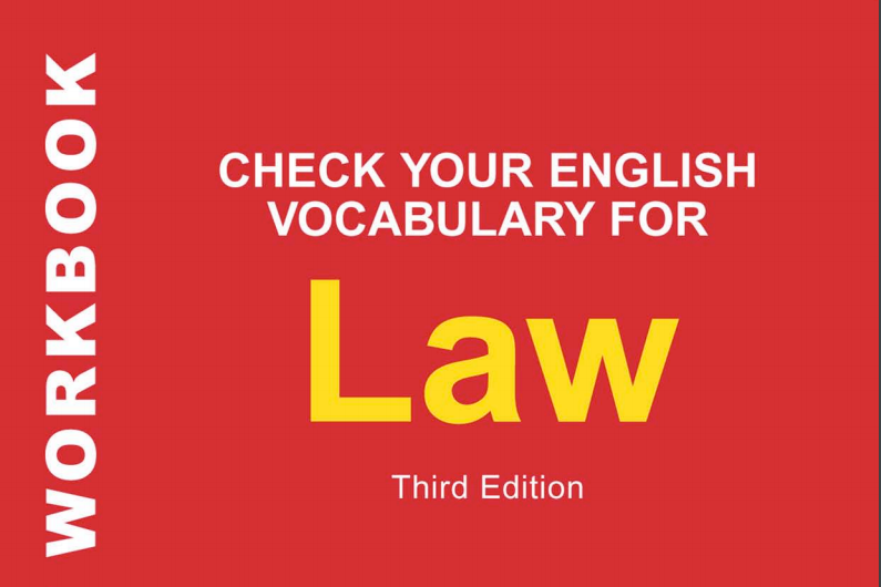 Giới thiệu sách: CHECK YOUR ENGLISH VOCABULARY FOR LAW (RAWDON WYATT)